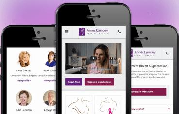 Anne Dancey Website Redesign
