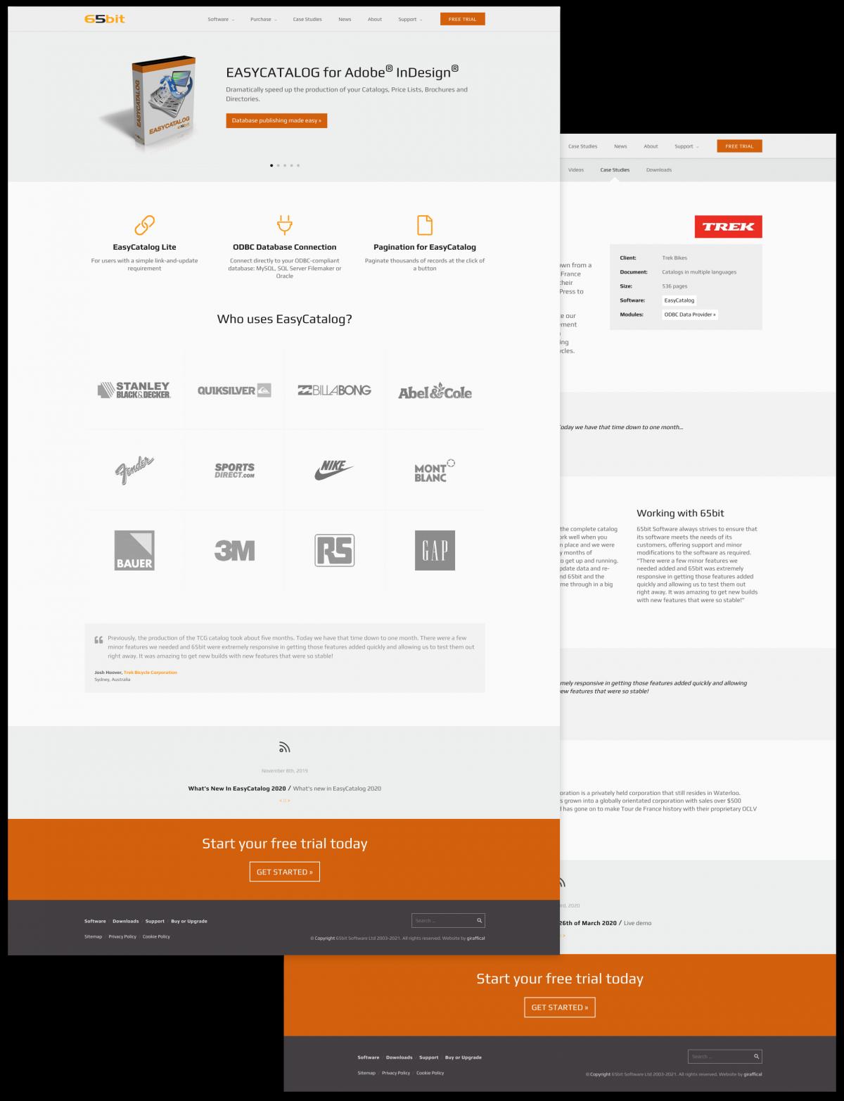 65bit Software Website Redesign